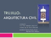 Arquitectura civil de Trujillo