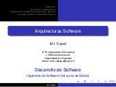Arquitecturas de Software