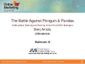 The Battle Against Penguins and Pan...