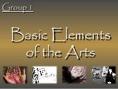 Elements of the fine art
