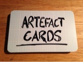 Artefact Cards at Laptops and Looms