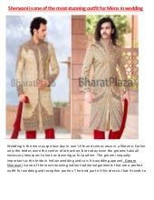 Sherwani is one of the most stunnin...