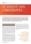 Artikel rapid circle in interne communicatie - de kracht van conversaties binnen enterprise social media