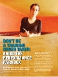 Don't be a training order taker: avoid the performance paradox