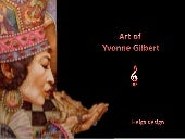 Art of Yvonne Gilbert