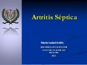 Artritis septica mary