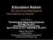 Arts educationpartnership