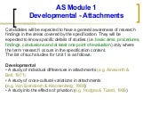 AS Module 1 Developmental