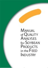 Manual of quality analysis - Soya p...