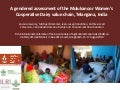 A gendered assessment of the Mulukanoor Women's Cooperative Dairy value chain, Telangana, India