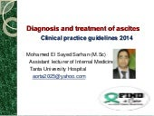 Ascites mohamed sarhan