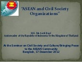 Asean and civil society organizatio...