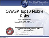 ASFWS 2012 - OWASP Top 10 Mobile, r...