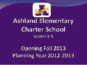 Ashland charter school community