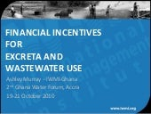Financial incentives for excreta an...