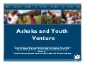 Stephanie Potter - Ashoka and youth venture overview