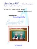 Ashton's Sales Psychology