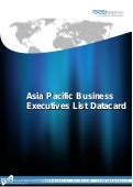 Asia Pacific Business Executives List Datacard