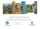 Intex Resources Mindoro Nickel Phil...