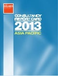2013 Asia-Pacific PR Agency Report Card