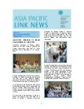 Asia Pacific Link News - April 2016
