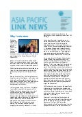 Asia Pacific Link News - January 2011