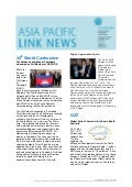 Asia Pacific Link News - September 2011