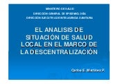 Asis local y la descentralizacion