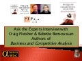 Ask the Experts Interview with Craig Fleisher and Babette Bensoussan on Business and Competitive Analysis