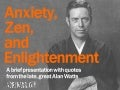 Anxiety, Zen, and Enlightenment
