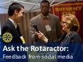 Rotaractors discuss challenges of joining Rotary