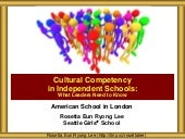 ASL Cultural COmpetency Board