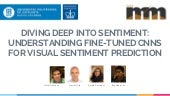 Diving deep into sentiment: Understanding fine-tuned CNNs for visual sentiment prediction