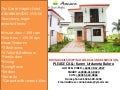 Asmara Model Single Detached House and Lot For Sale  Non Flooded Location RFO
