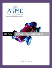 Asme newsletter oct'12