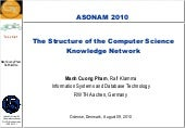The Structure of Computer Science K...
