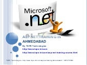 Asp.net training in ahmedabad for s...