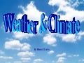 Aspects of the weather
