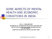 BJ Prashantham Mental Health & Eco