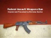 Federal Assault Weapons Ban