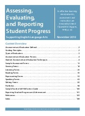 Assessment evaluation tools[1]