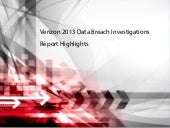 2013 Data Breach Highlights