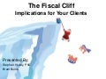 Asset Dedication Fiscal Cliff