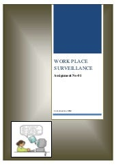 Workplace Surveilance