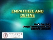 EMPATHIZE AND DEFINE MAP ASSIGNMENT