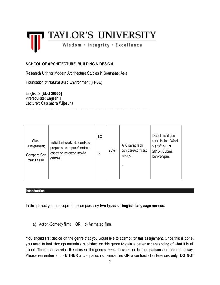 Small Essays In English Movie Comparison Essay Cornell Blogs Cornell University Essay Proposal Template also What Is A Thesis Statement For An Essay Academic Writing  University Of Leicester Comparison Essay  My Hobby English Essay