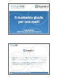 Assolombarda 2007 - L'email marketing manda in vacanza il turista