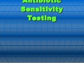 antibiotic-sensitivity testing