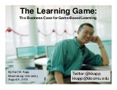 The Business Case for Game Based Le...