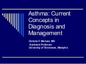Asthma Talk For Obgyn